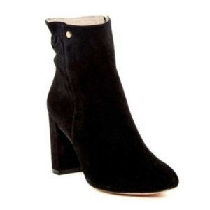 Louise Et Cie Shayna Black Suede Ankle Booties 5